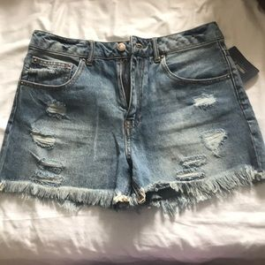 NEW High Waisted Jean Shorts